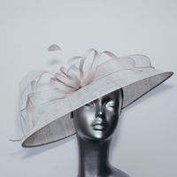 Buff (nearly silver) coloured Statement Hatinator13901/SD136